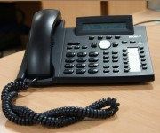 Call Management telephone answering service link