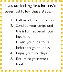 Call Management offers holiday cover for your enterprise