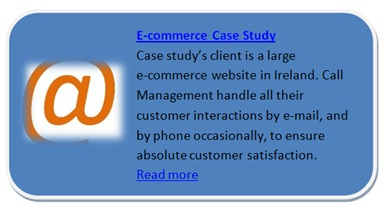 Call Management a call centre E-commerce case study
