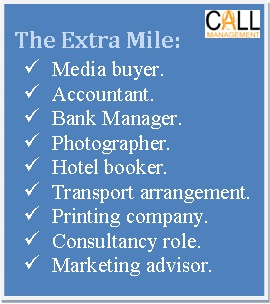 Call Management goes an extra mile for its call centre clients