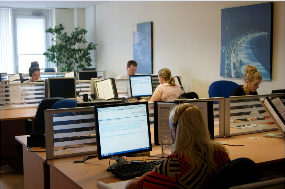 Call Management call centre open office photo