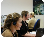 telephone answering service call centre