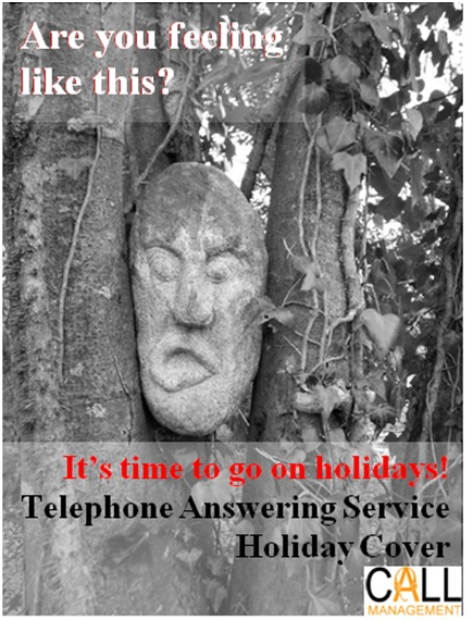 holiday cover 2013 telephone answering service