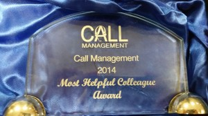 Call Management 2014 Awards
